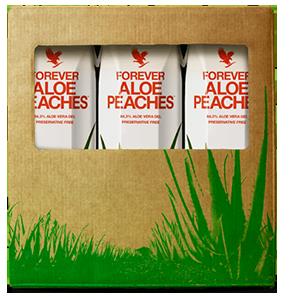 Aloe Pêche TRIPACK